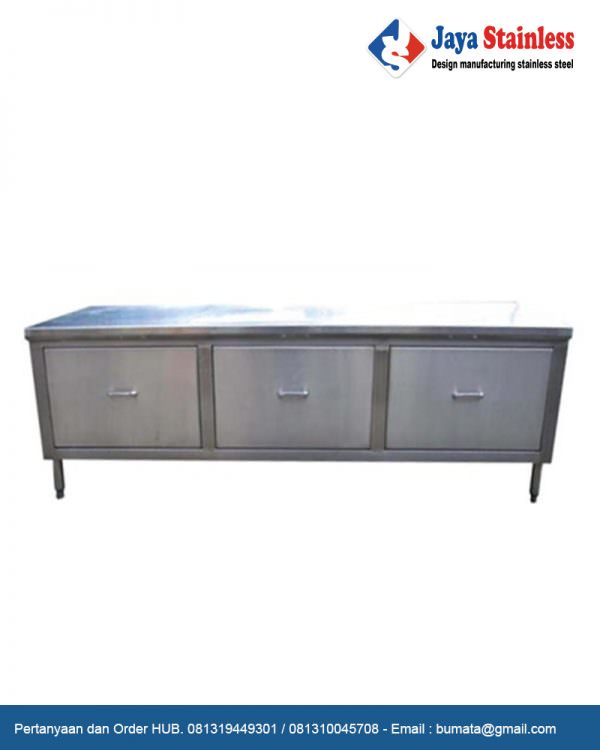 Cabinet stainless with Drawer ( Code : JS DSC 09 )