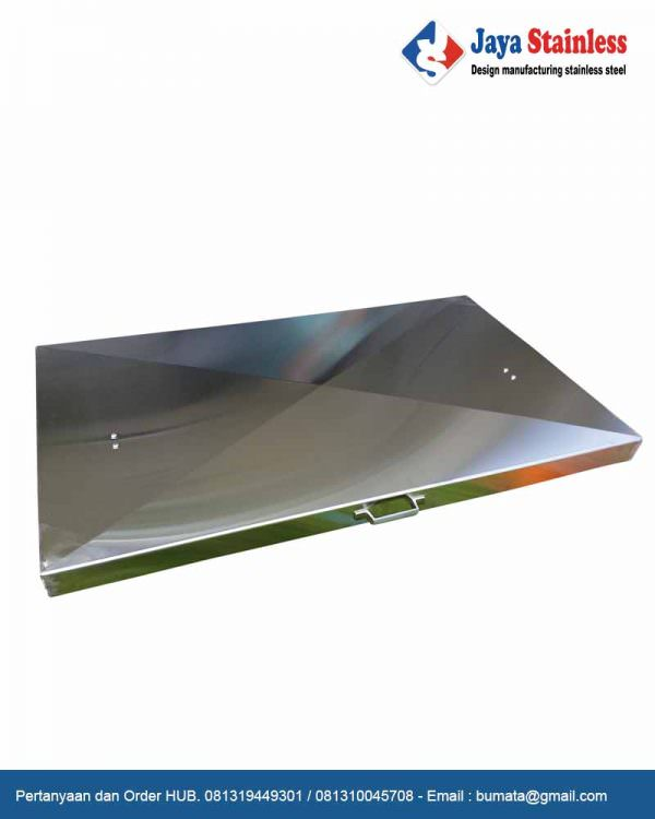 Cover stainless - Grill and Griddle Cover - Penutup stainless