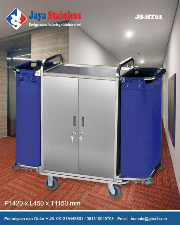 Hotel service cart - Housekeeping trolley - Housekeeping Carts JS-HT02