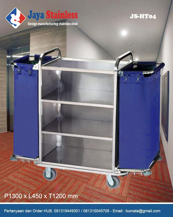 Hotel service cart - Housekeeping trolley - Housekeeping Carts JS-HT04