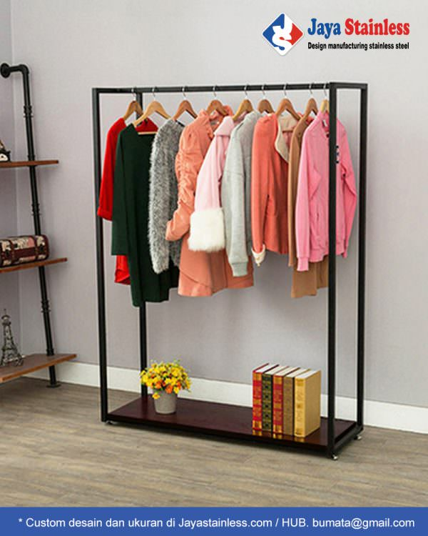 Rak gantungan baju JSRB-5 (Clothing Display Rack)