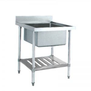 S/S SINK TABLE SST-0755 (Meja cuci piring dan tangan)