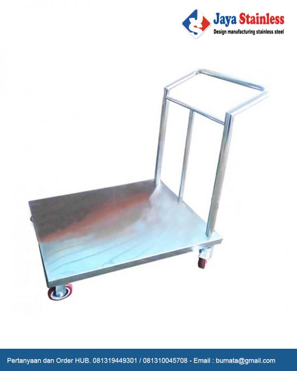 Load transfer trolley (troli barang 1 handle)