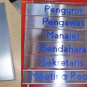 Wall plate holder - Papan Nama Dinding - Papan Nama Ruang