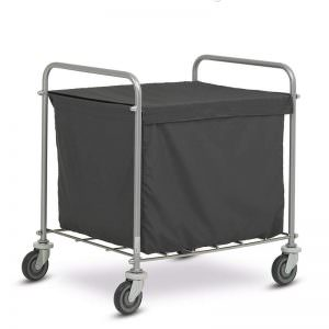 Laundry Trolley Stainless (Troli Pakaian)