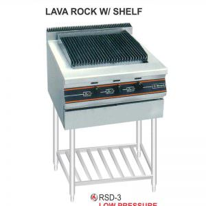 Gas open Griddle & Boiler With Stand RSD-3