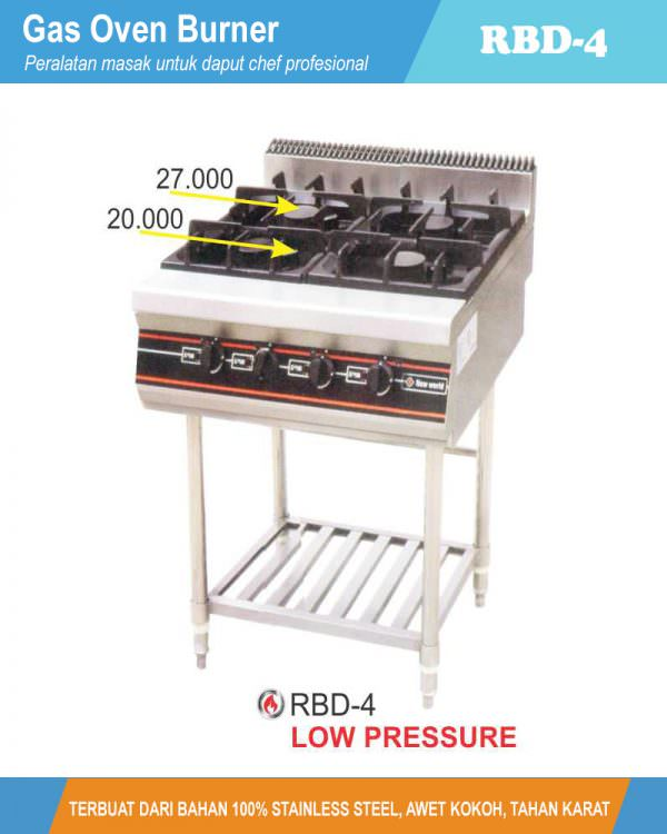 Gas Open Burner With Stand RBD-4