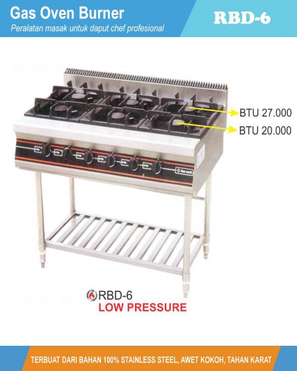Gas Open Burner With Stand RBD-6
