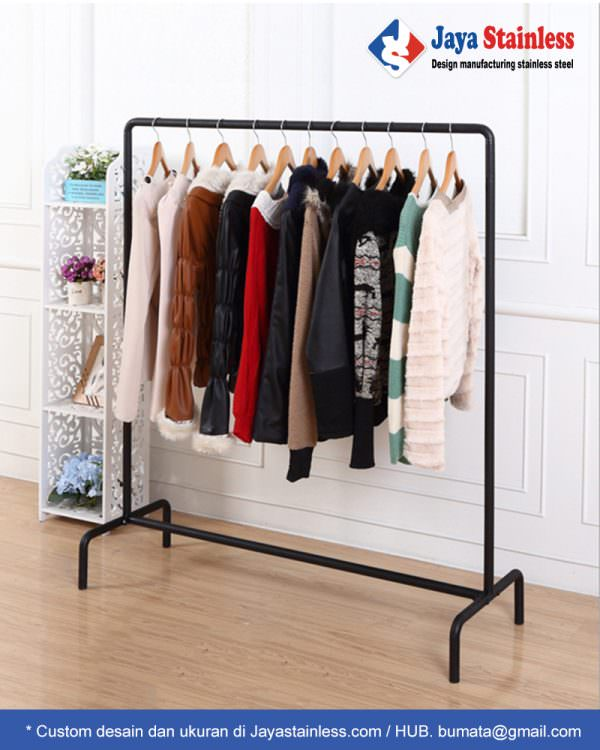 Rak gantungan baju JSRB-8 (Clothing Display Rack)