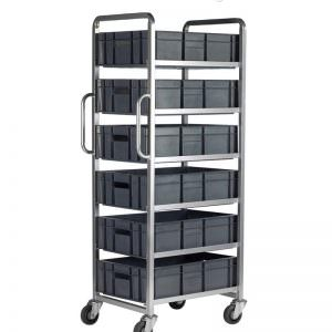 Trolley keranjang container - Trolley container stainless
