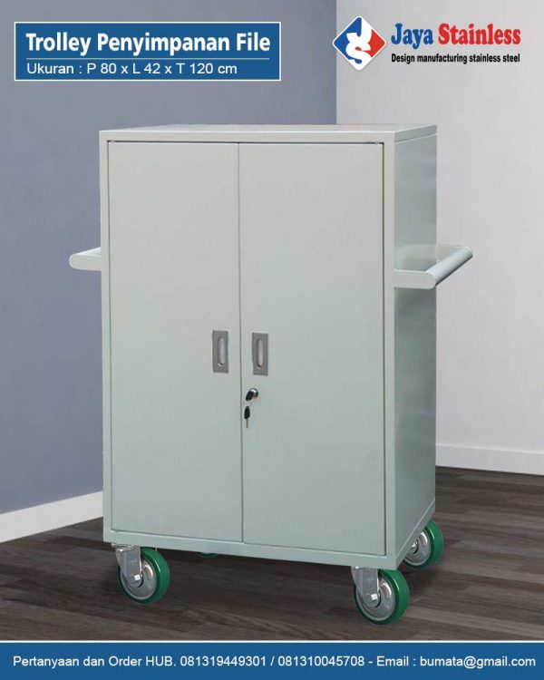 Trolley Penyimpanan File - Mobile Trolley For Filing Cabinet