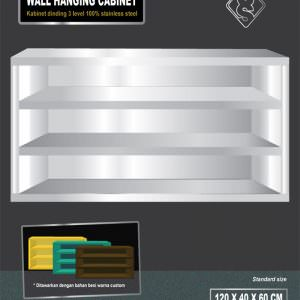 Wall hanging cabinet stainless