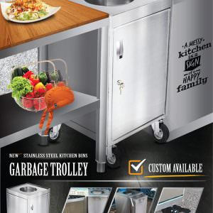 Garbage Trolley - Waste trolley